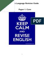 IGCSE English Revision Guide Core