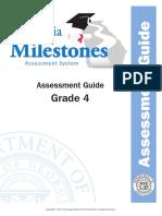 grade 4 assessment guide