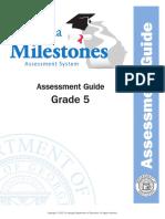 grade 5 assessment guide
