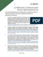 1 Set de Consultas y Respuestas Licitacion Publica Servicio de Red de Carga