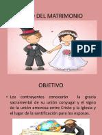 PP EL MATRIMONIO