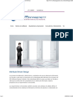 Attribute Driven Design _ SoftManagement Fabrica de Software