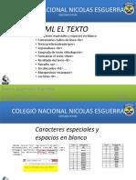 El Texto HTML Joann Guerrero y Santiago Goyeneche