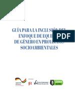 guia para enfoque de genero en temas socioambientales
