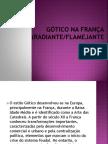 Gótico Na França(Radiante.flamejante)