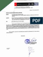 Oficio Ministerio de Educacion
