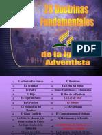 Tema 28 Doctrinas Fundamentales