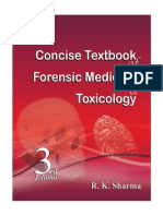Concise Textbook of Forensic Medicine & Toxicology - R.K.sharma 3rd Ed