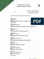 Notificación de La Resolución RPC SO 25 No.489 2017