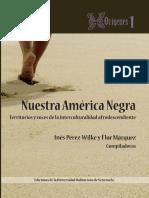 Libro. Nuestra América Negra. UBV