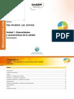 Unidad 1. Generalidades y Caracteristicas de La Calidad_Actividades