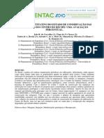 Estudo Quantitativo Do Estado de Conservação Das Marquises Do Centro Do Recife. Uma Avaliação Percentual