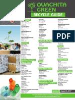 Ouachita Green Recycling Guide