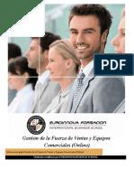 Mf1001 3 Gestion de La Fuerza de Ventas Y Equipos Comerciales Online