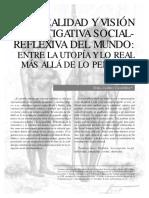 Realidad y Vision Investigativa Social Reflexiva