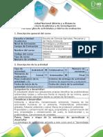 Guía de Actividades y Rúbrica de Evaluación - Tarea 3. Identificar y Analizar Las Actividades Propias y Su Relación Con La Problemática Ambiental.docx