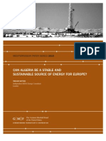 Can Algeria Be a Stable and Sustainable Source of Energy for Europe?