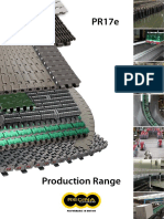 Conveyor Production Range 2017