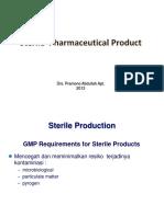 Proses Produksi Produk Steril
