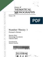 Kato, Kurokawa, Saito - Number Theory I. Fermat's Dream s