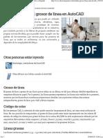 El Estándar Para El Grosor de Línea en AutoCAD _ EHow en Español