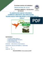 ESTUDIO TÉCNICO Abono Organico Expo