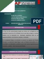 Estado Peruano y sus Elementos