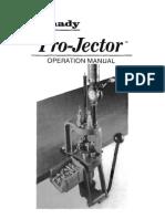 Hornady ProJector Manual