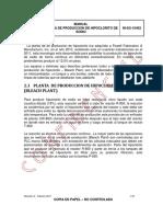 Manual de Proceso Planta de Porduccion Hipoclorito