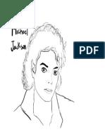 Michael Jackson Para Colorear