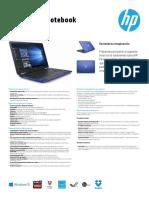 Especificaciones HP Pavilion Aw002la