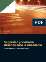 Seguridad y violencia