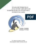 ASO6 - V Jornada sobre Tartarugas Marinhas do Atlântico Sul Ocidental