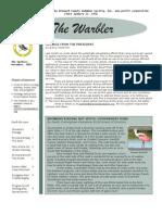 November 2005 Warbler Newsletter Broward County Audubon Society