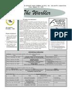 December 2005 Warbler Newsletter Broward County Audubon Society