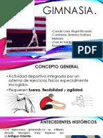 Presentación gimnasia.