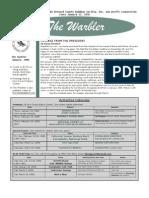 January 2006 Warbler Newsletter Broward County Audubon Society