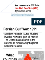 22  persian gulf conflicts