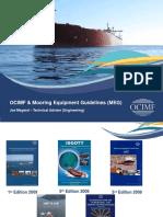 OCIMF & Mooring Equipment Guidelines (MEG)