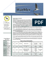 April 2007 Warbler Newsletter Broward County Audubon Society