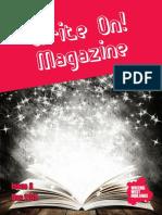 Write on! Magazine Issue 8