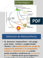 Metamorfismo y Rocas Metamórficas 2016