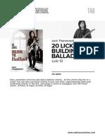 Jt 20licksbuildingtheballad Lick13 Tab