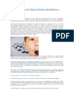 Cómo Ayudar a Los Hijos de Padres Alcohólicos o Drogadictos