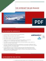 El Marketing Por Internet de Air France