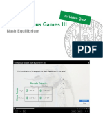 Lecture Slides-Quiz Simultaneous Games III