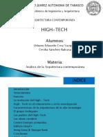 Aquitectura High Tech Exposicion