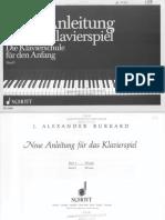 Neue Anleitung Fur Das Klavierspiel