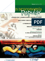 Boletín de Economía Popular Nº 1 - CEMOP (Madres de Plaza de Mayo)