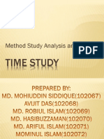 Method Study Analysis & Charts